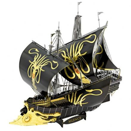 Metal Earth IconX Game of Thrones Greyjoy Ship Silence Model Kit